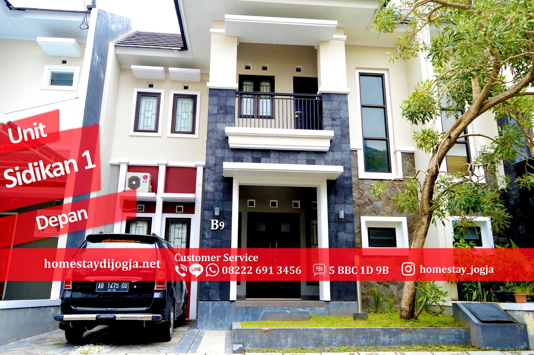 Guest House 3 Kamar di Kuantan Regency Sidikan 10 Menit Menuju Malioboro