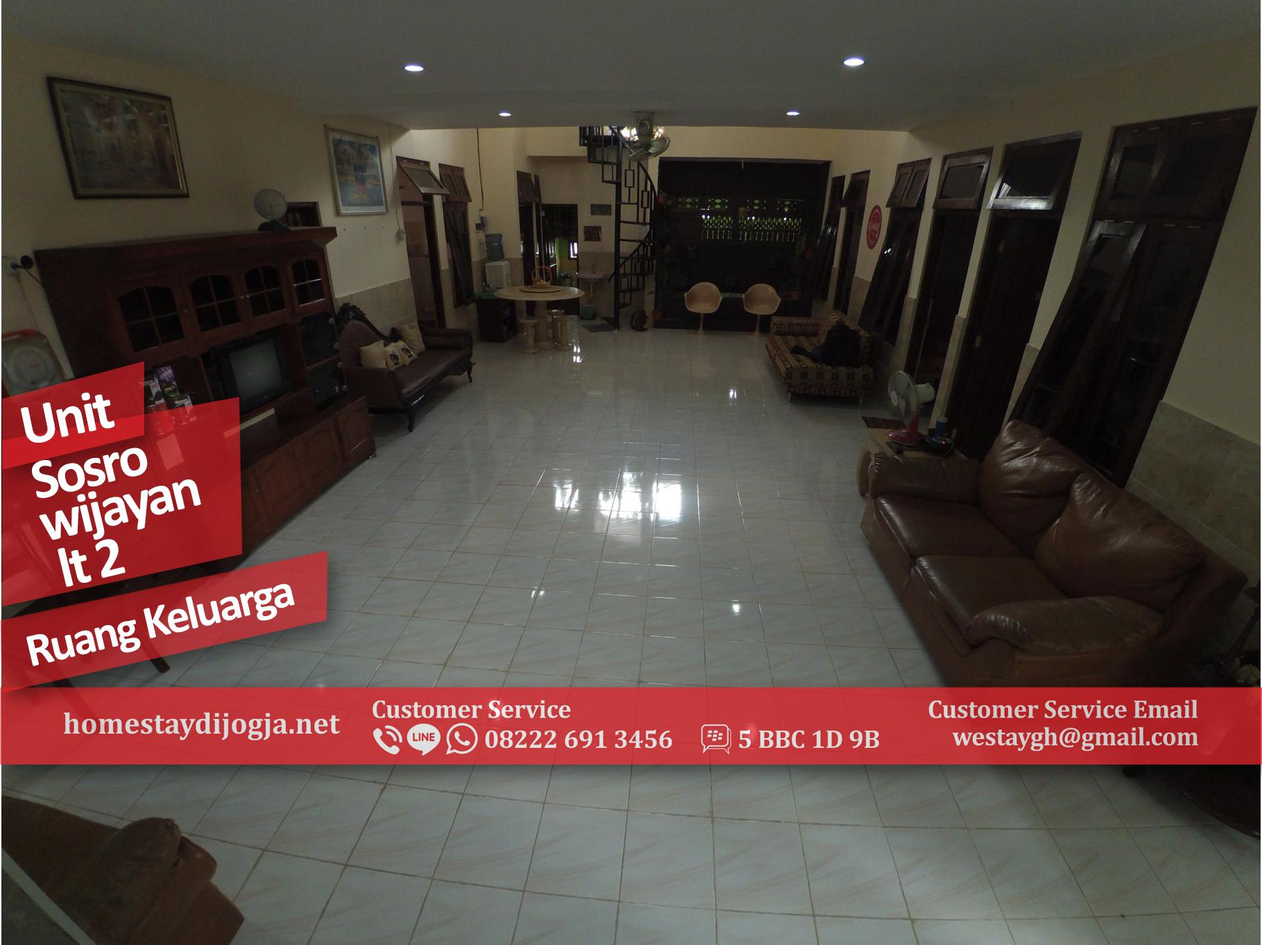 Guest House Jogja 6 Kamar di Sosrowijayan 100 Meter dari Malioboro