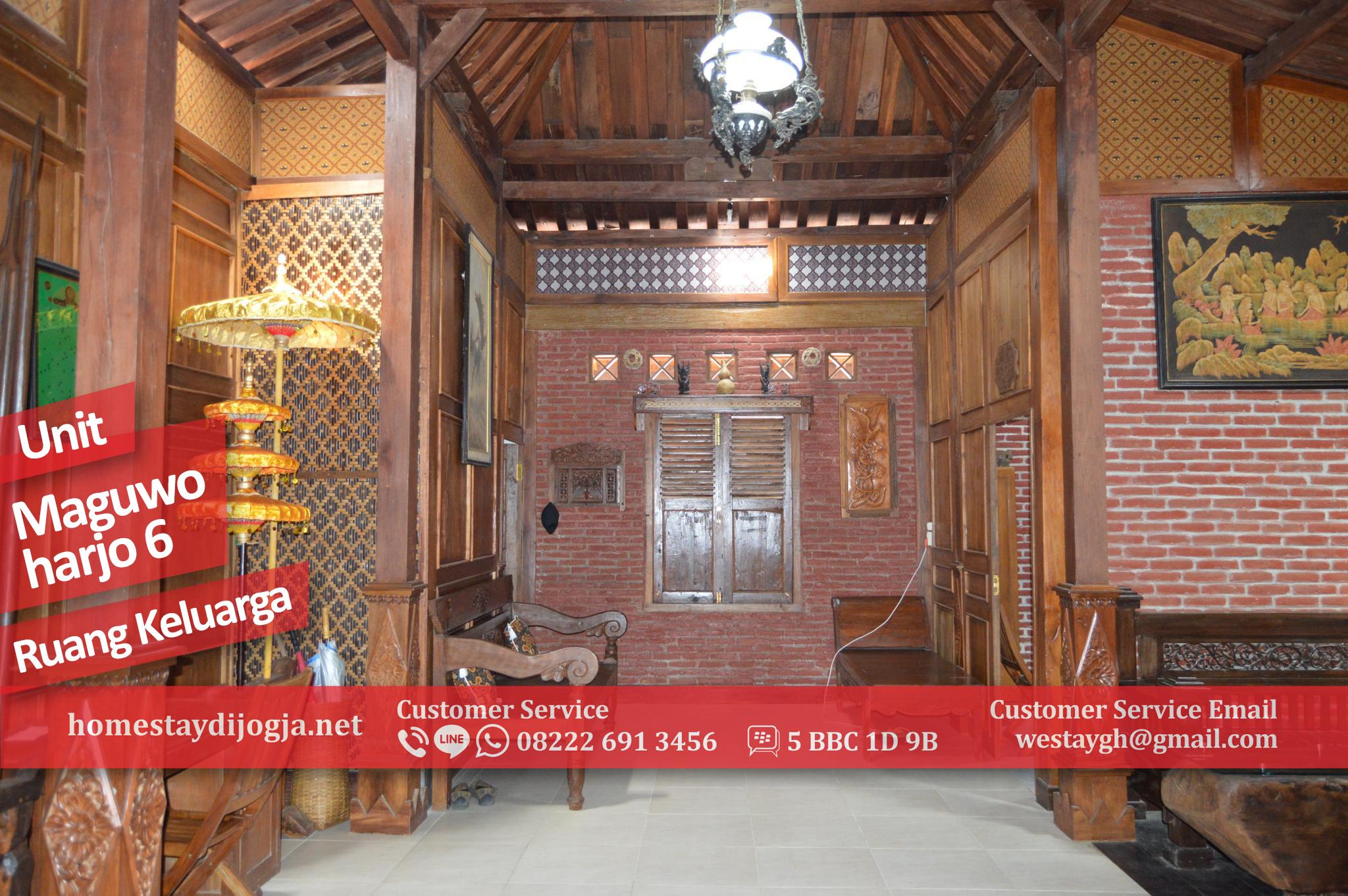 Homestay Murah 3 Kamar di Jalan Solo 5 menit menuju Bandara Adisucipto