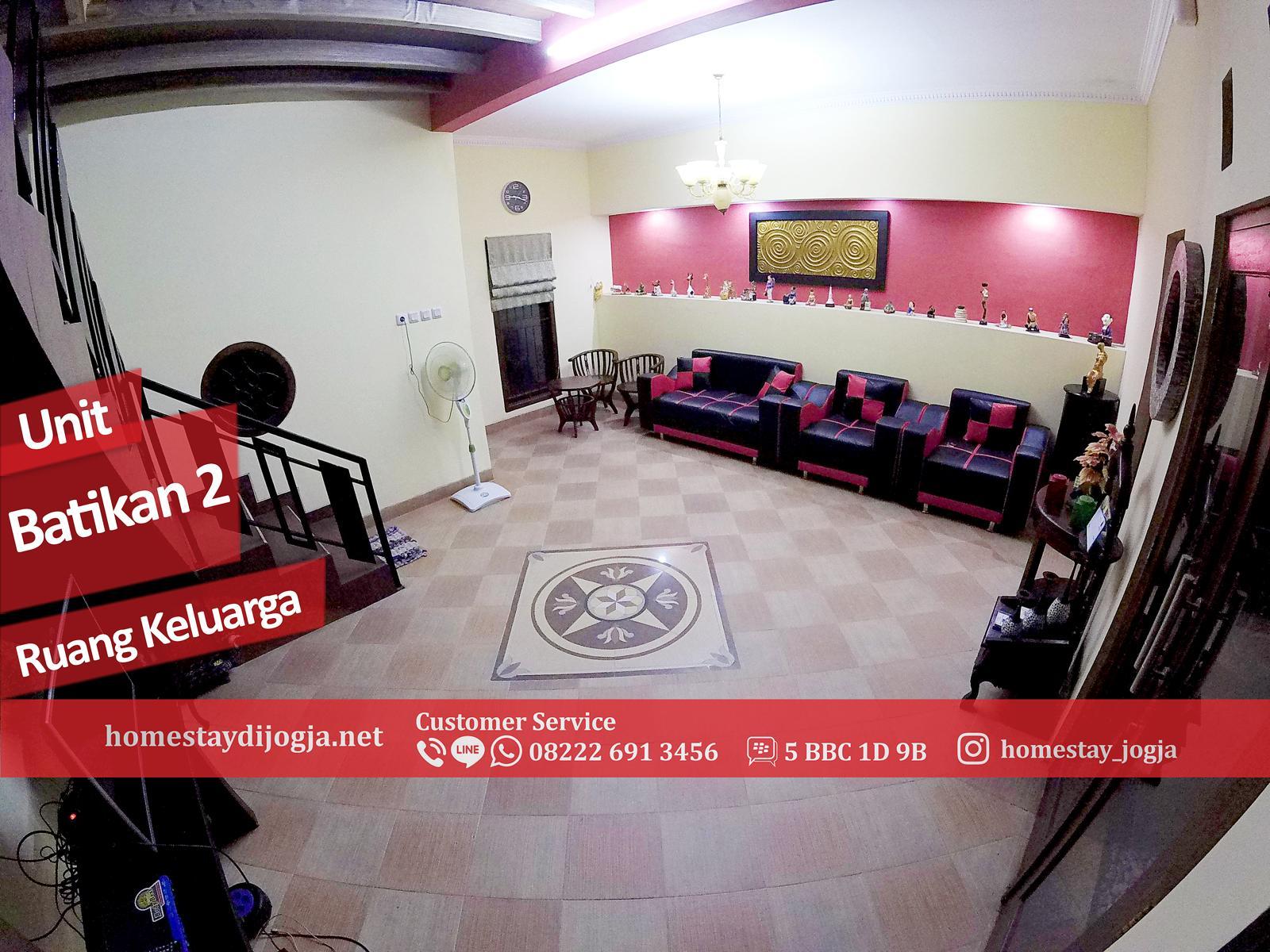 Guest House 3 Kamar AC di Batikan 15 menit menuju Malioboro