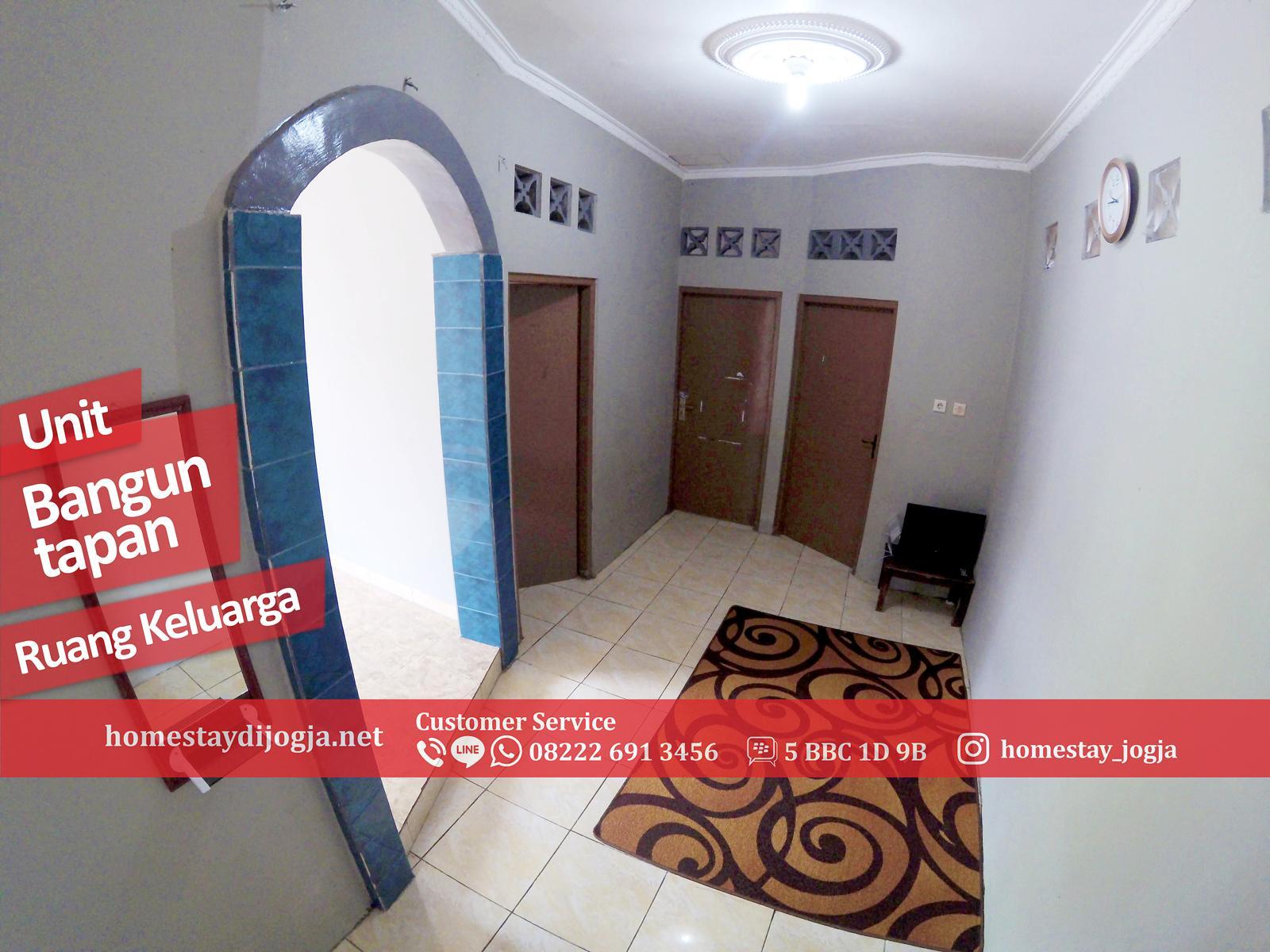 Guest House 3 Kamar FAN di Banguntapan 15 menit menuju Malioboro