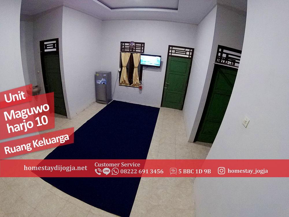 Homestay 4 Kamar di Maguwoharjo 5 menit menuju Bandara Adisucipto