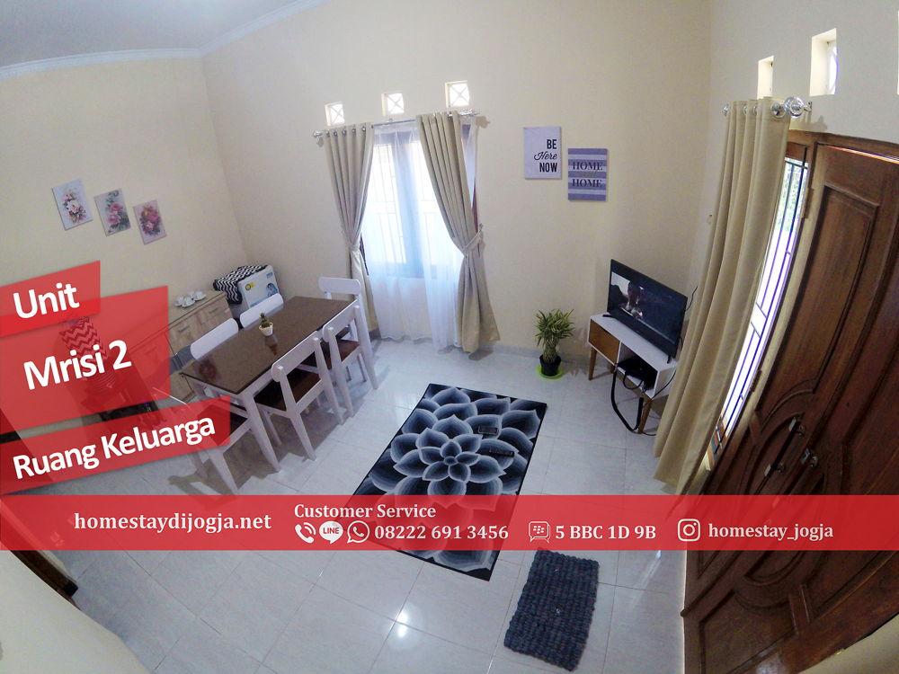 Guest House 3 kamar tidur  di Mrisi 25 menit menuju Malioboro