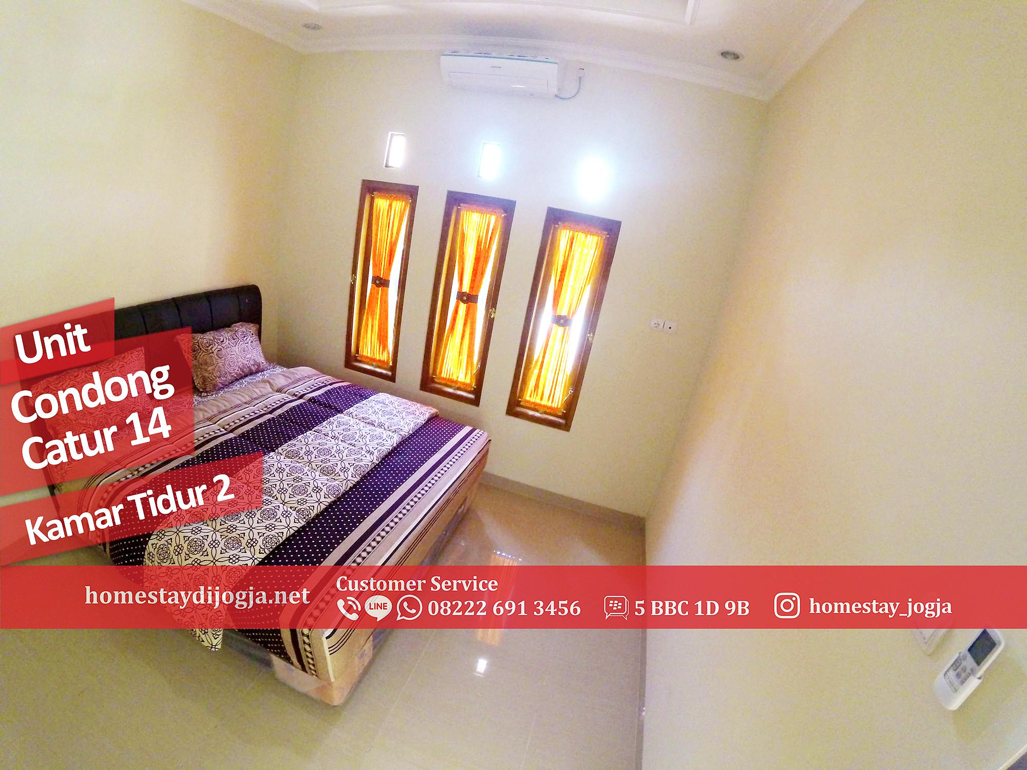 Guest House 2 Kamar AC di Condong Catur 25 menit menuju malioboro