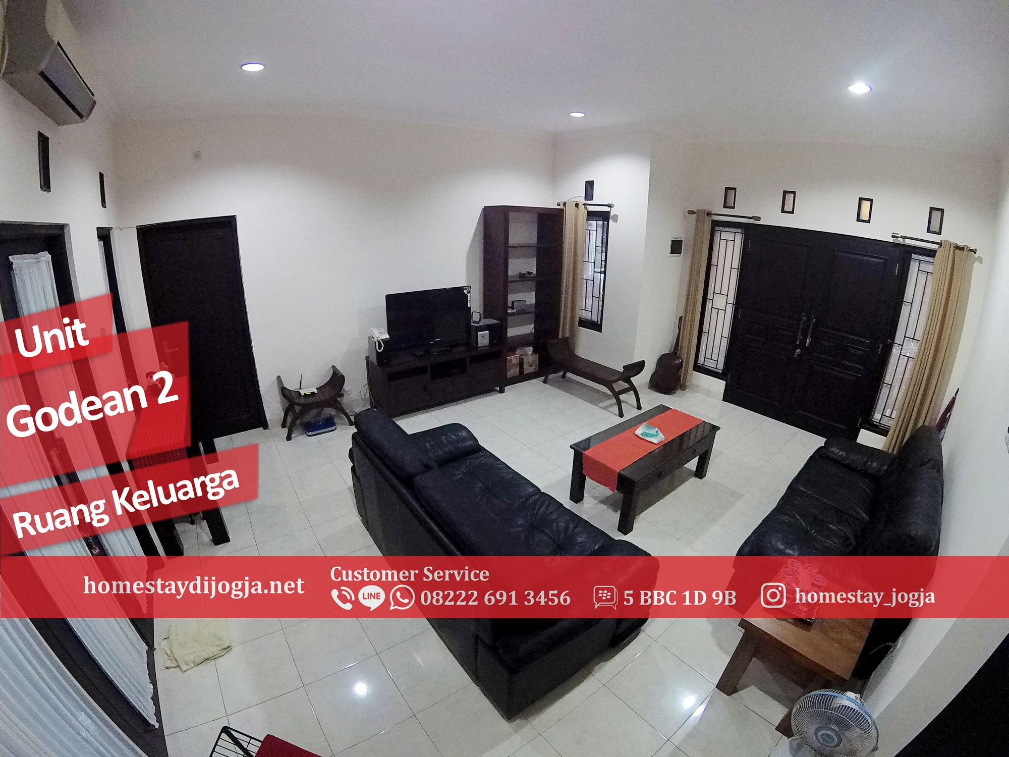Guest House Jogja 4 Kamar Tidur AC + Wifi 10 menit menuju malioboro di Godean