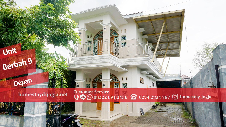 Homestay Murah 4 Kamar tidur di Berbah kapasitas hingga 25 orang