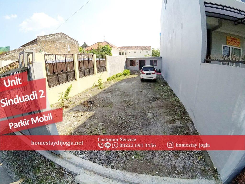 Homestay 9 kamar Fan di Sinduadi 20 menit menuju malioboro
