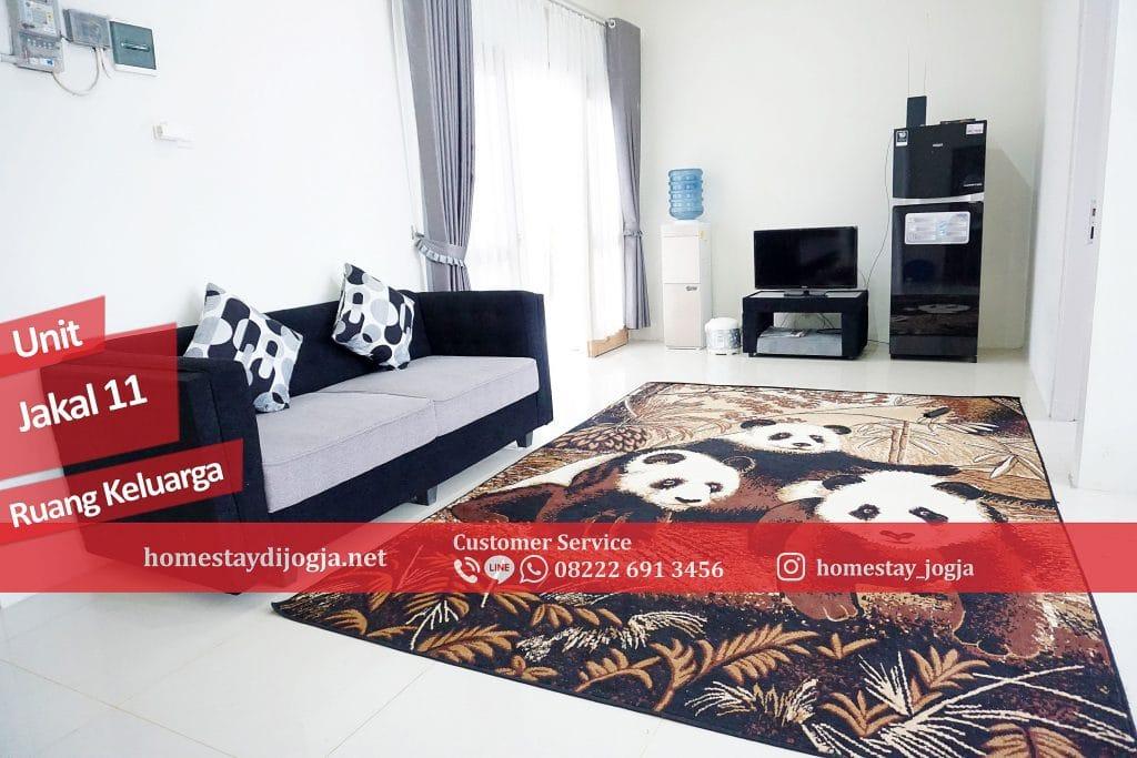 Homestay Jogja 3 Kamar tidur di Jalan Kaliurang KM 12