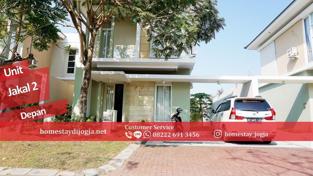 Penginapan 3 Kamar AC di Jalan Kaliurang km 9 menuju malioboro 25 menit