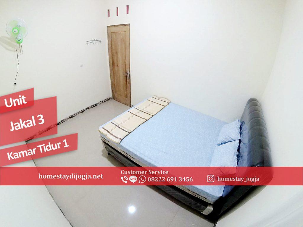 Guest House Jogja 3 Kamar tidur di Jalan Kaliurang KM 12