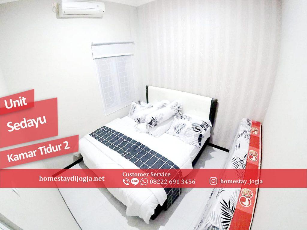 Guest House Jogja 2 Kamar tidur AC di Sedayu menuju Malioboro 40 menit