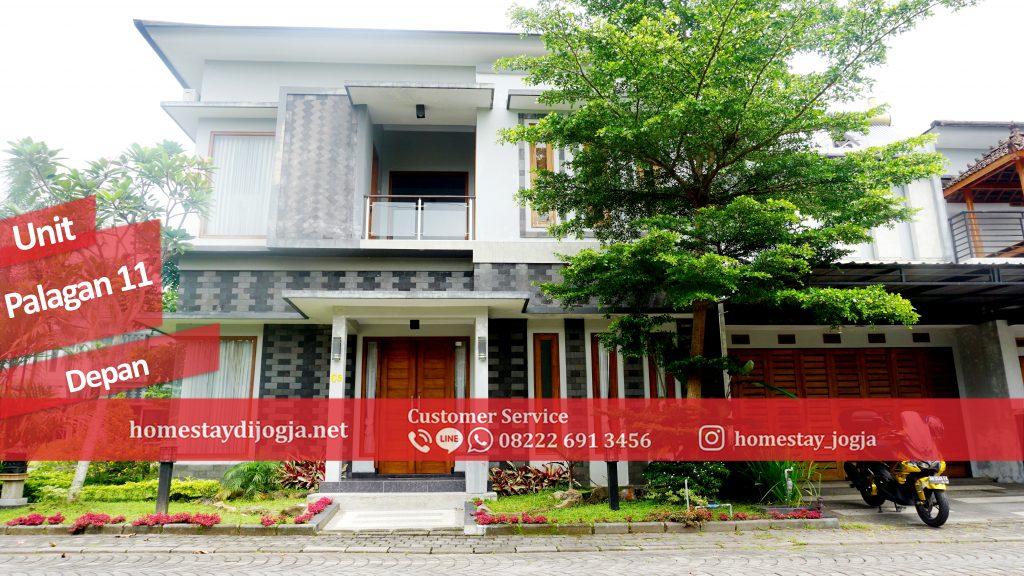 Penginapan Jogja 3 Kamar AC di Jalan Palagan km 10