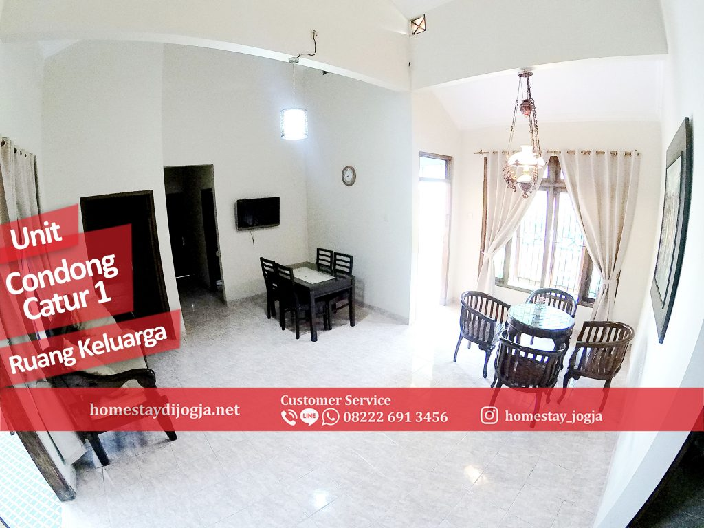 Guest House Jogja 3 Kamar di Condong Catur