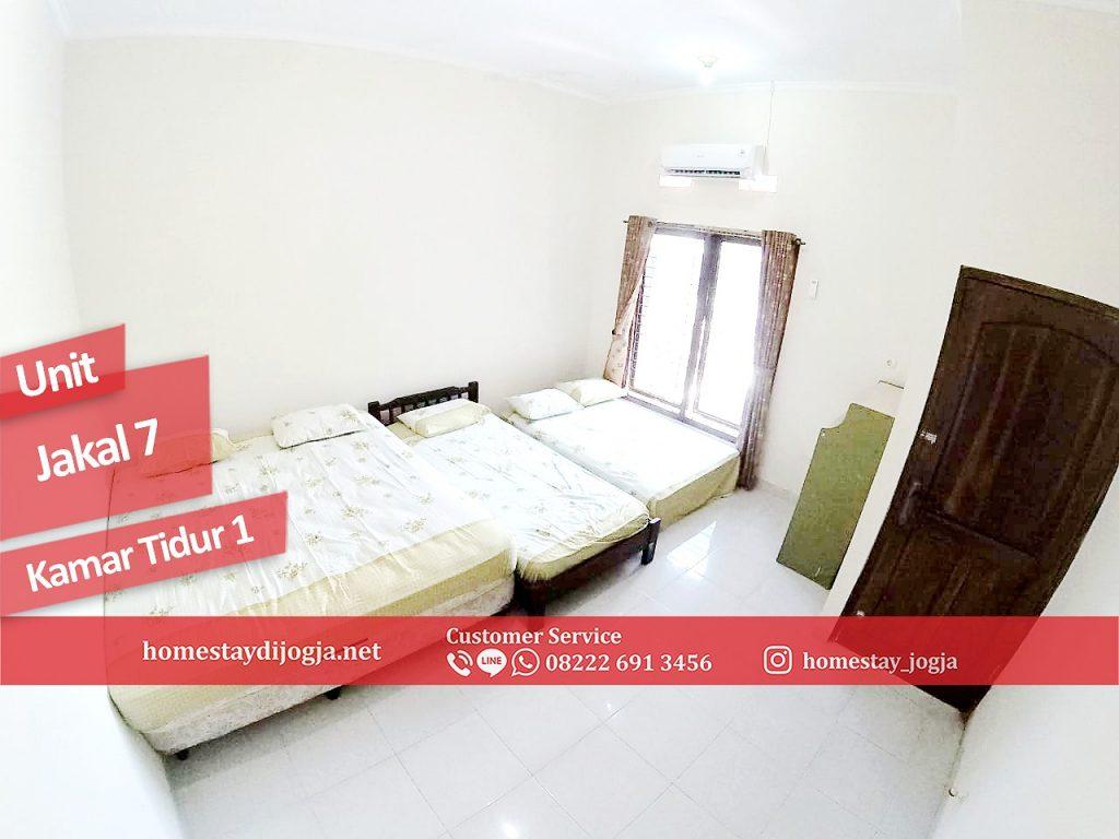 Homestay Jogja 3 Kamar tidur di Jalan Kaliurang KM 10