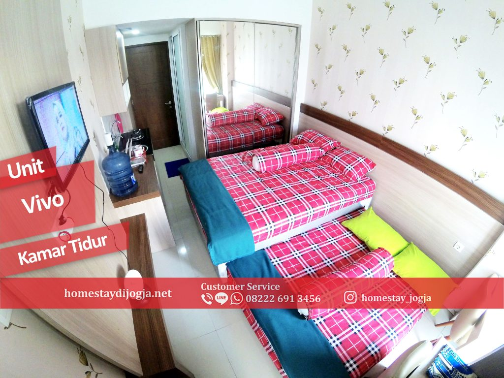 Apartemen Seturan Vivo unit Pool Side